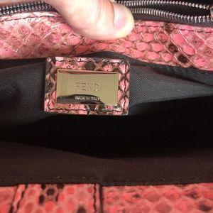 Fendi Bags - Sale😊Fendi NWT Petite 2Jours Pink Python Bag
